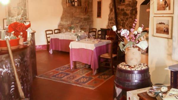 """sala ristorante - Osteria """"la Botte"""", Castelnuovo Berardenga"""