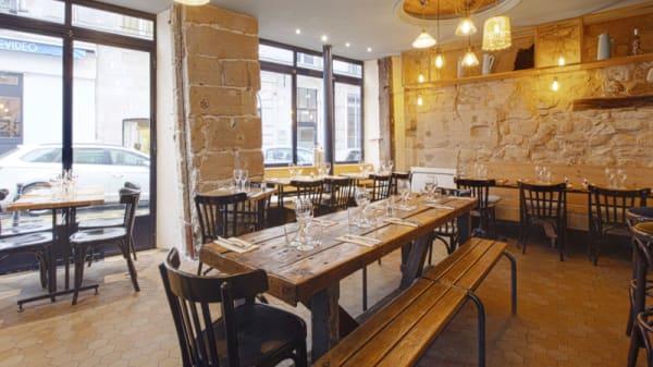 Salle du restaurant - Au Plaisir Paris, Paris