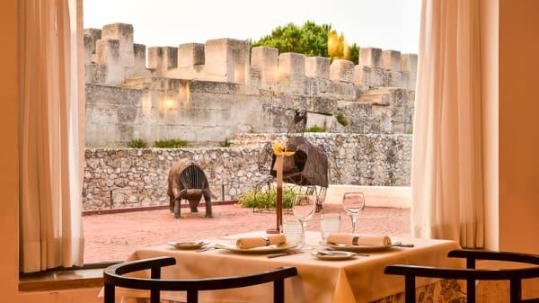 Vista - Restaurante das Colunas - Pousada Castelo de Alcácer, Alcácer do Sal