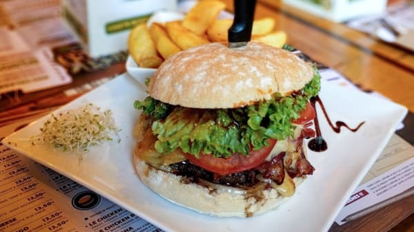 Burger - Green Mango Parvis, Saint-Gilles