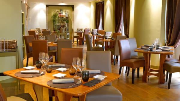 Salle du restaurant - Restaurant Les Sens, Puylaroque