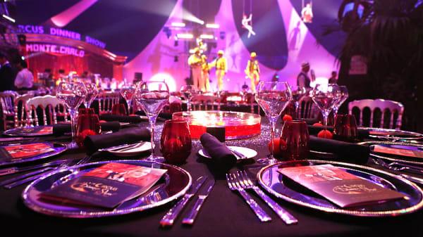 Un dîner-spectacle unique sur la Côte d'Azur - Circus Dinner Show  Monte-Carlo, Monaco