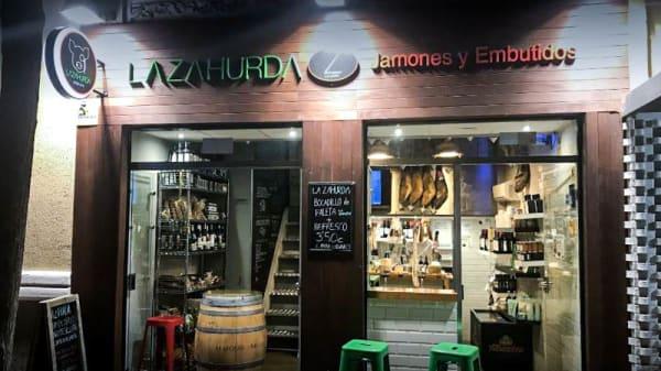 Entrada - La Zahurda, Madrid