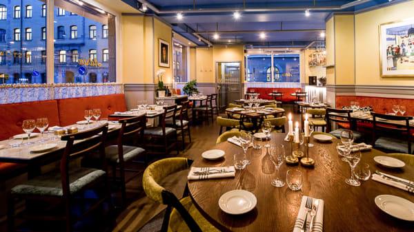 Dining room - Adria Ristorante & Bar, Stockholm