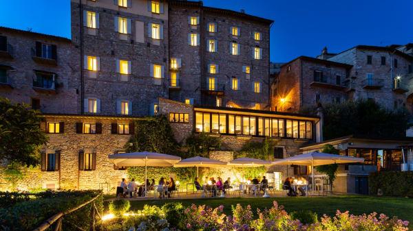 giardino notturno - Il Frantoio, Assisi