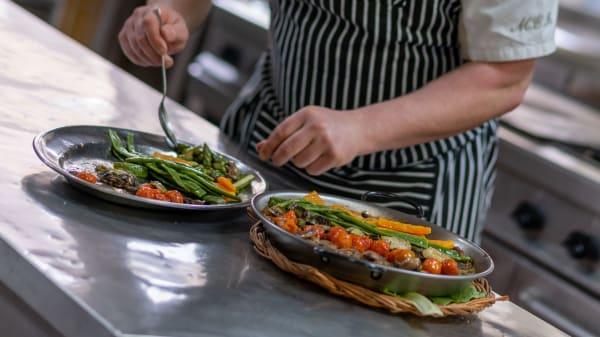 Cuina d'autor: paella de verdures - Medes II, L Estartit