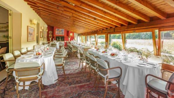 Veranda pront per un evento privato - La Locanda di Piero, Montecchio Precalcino