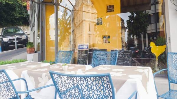 Terrasse - Le Tandem Restaurant - Lausanne, Lausanne