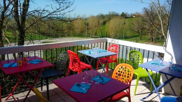 Terrasse - Fourchettes et Cie, Parisot