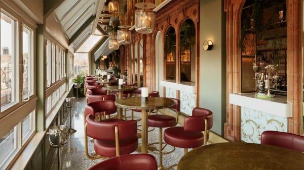 Perrier-Jouët Champagne Terrace at Harrods, London