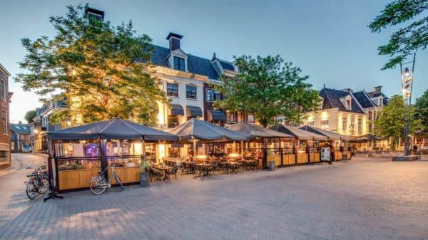 Terras - Grand-Café De Walrus, Leeuwarden