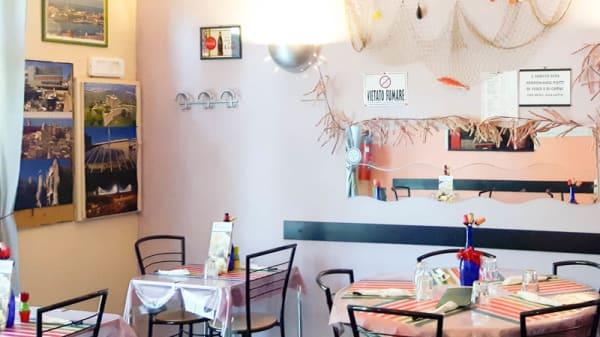 Vista sala - Trattoria pit stop cafe, Genoa