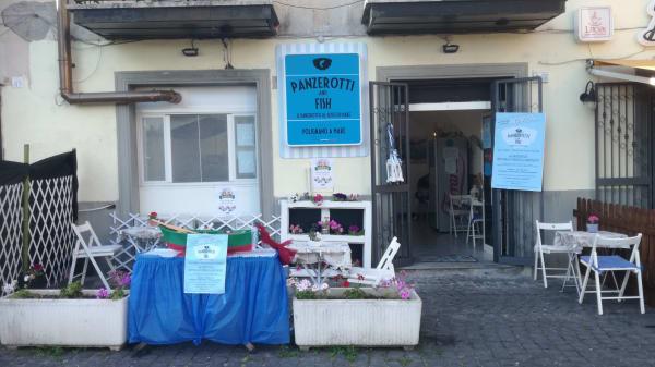 Esterno - Panzerotti & Fish, Valmontone