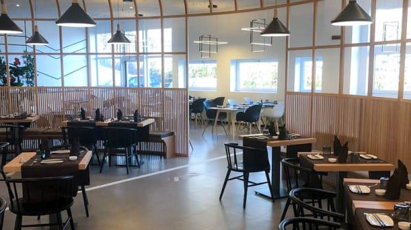 Veduta dell interno - Miya New Sushi Concept, Costa Masnaga