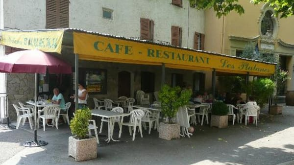Restaurant - Les Platanes, Villars-sur-Var