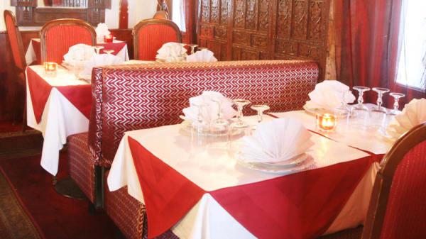 Vue table - Délice de l'Inde, Paris