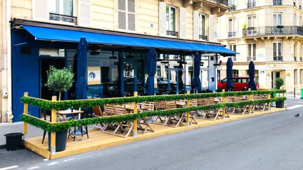 Terrasse de L'invitée - L'invitée, Paris