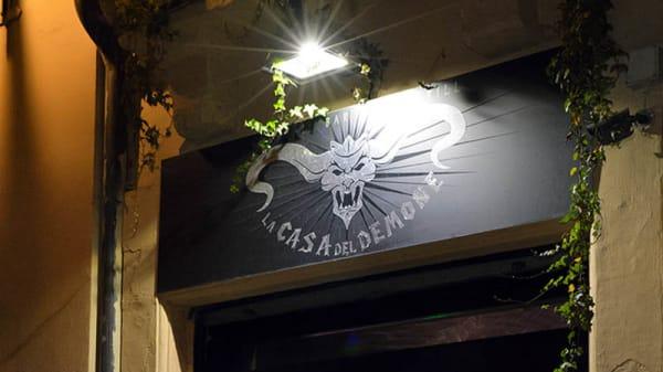 entrata - La Casa del Demone, Torino