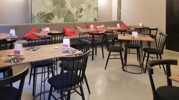 Vista sala - Convie Food, Torino