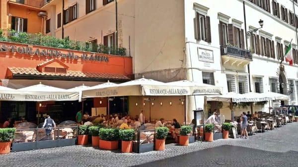 Alla Rampa, Rome
