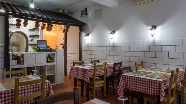sala - Pizzaria Don Pancho, Parede