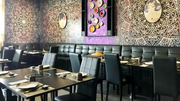 Veduta dell interno - Sushi Gohan, Prato