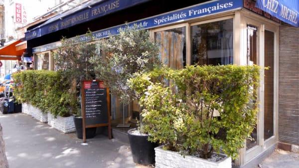 Devanture - Chez Michel, Paris