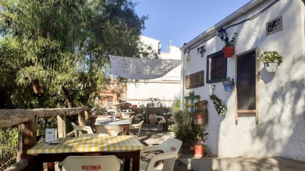 Terraza - Taberna la choza de Jarazmin, Málaga