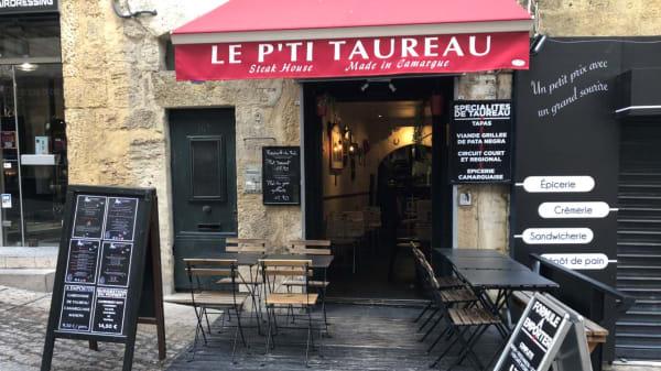 Façade - Le P'ti Taureau, Montpellier