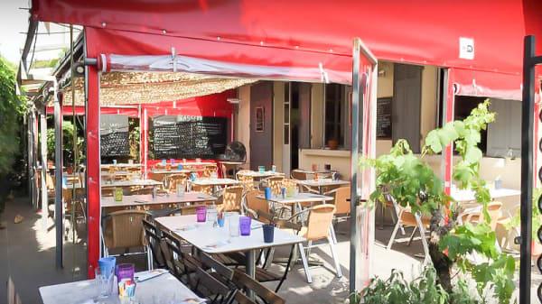 Terrasse - La Terrasse de Maxime, Aix-en-Provence