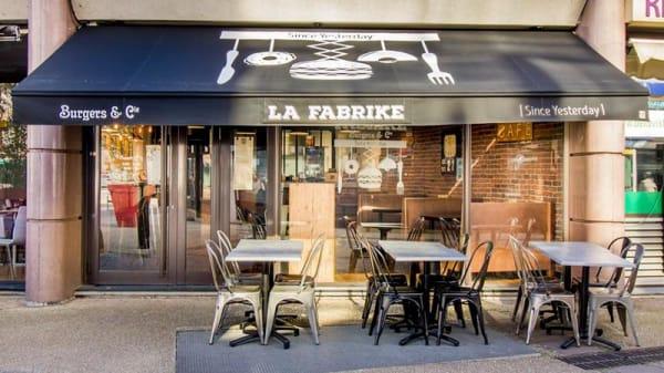 Devanture - La Fabrike Burger, Joinville-le-Pont