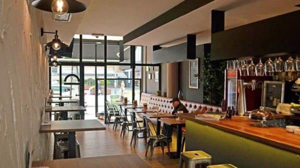 Vista de la sala - Granville Burger & Bar, A Coruña