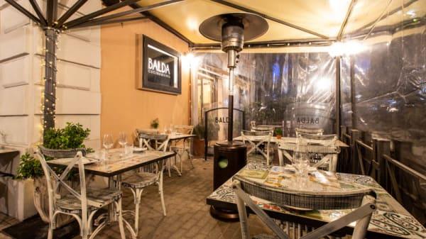 Vista sala - Balda Cucina & Vino, Rome