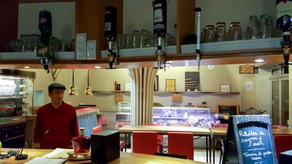 Vue de la salle - Chez Bianca et Philippe, Cognac