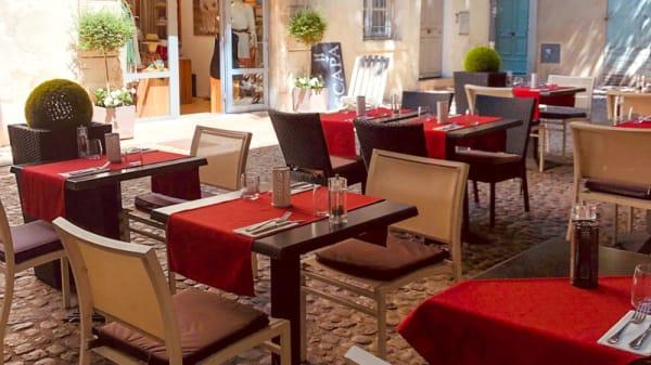 Terrasse - Les 5 Sens, Avignon