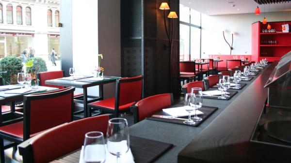 Salle du restaurant - Sushi Zen Palace, Lausanne