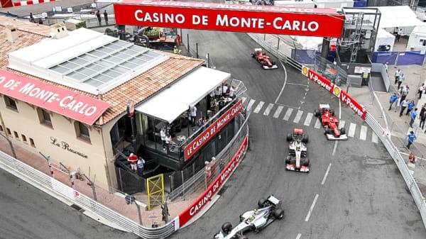 vue pour le grand prix - La Rascasse, Monaco