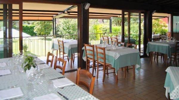 Vista sala - Trattoria La Conca Verde, Trescore Balneario