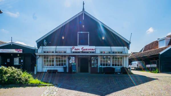 Ingang - Four Seasons, Monnickendam