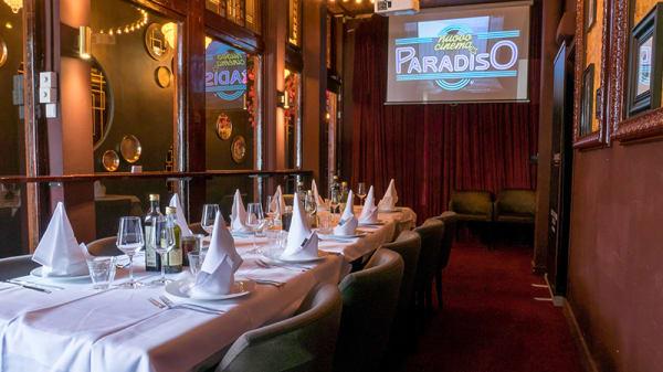 prvate dinning - Cinema Paradiso, Amsterdam