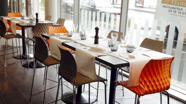 Vue salle - Brasserie Borgeot (fermé), Saint-Étienne