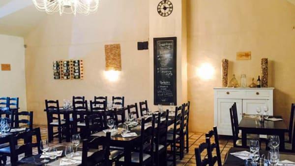 Salle restaurant - l'Olivier, Varennes-Jarcy