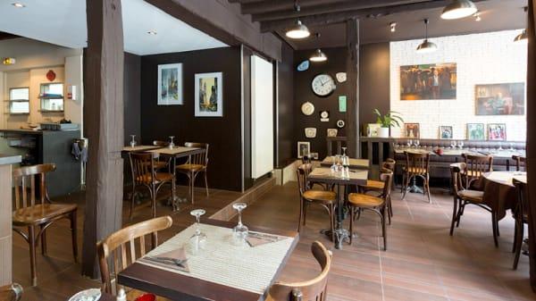 Salle du restaurant - A l'Endroit, Paris