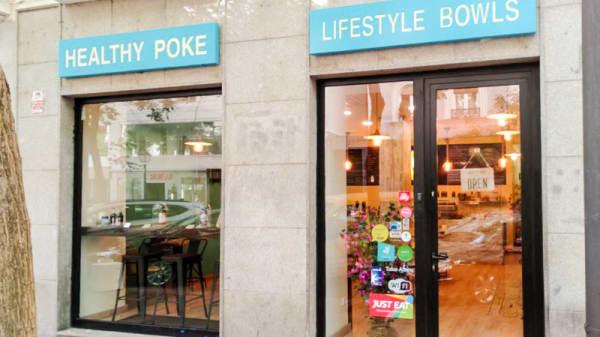 Entrada - Healthy Poke Pardiñas, Madrid