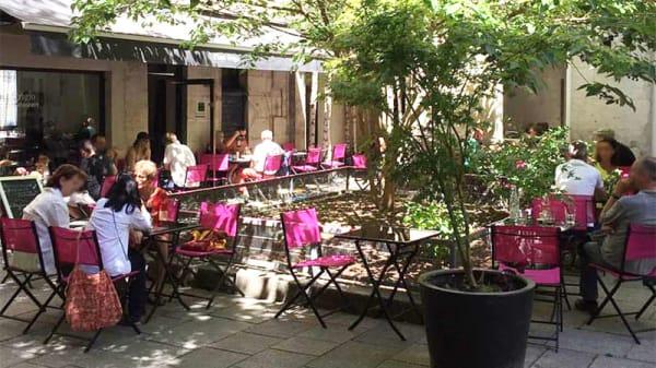 Vue de la terrasse - PINOT GRIGIO, Paris