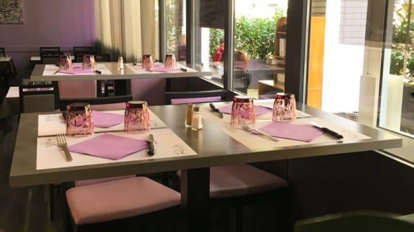 tables dressées - Le Rialto, Lyon