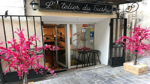 Entrée - L'Atelier du Sushi, Gémenos