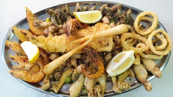 Fritura de pescados para 2 personas - El Portón, Peníscola
