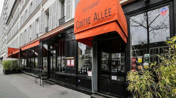 Devanture - La Contre-Allée, Paris