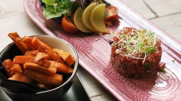 Tuna Tartare Sweat potatoes - Chez Gudule, Brussels